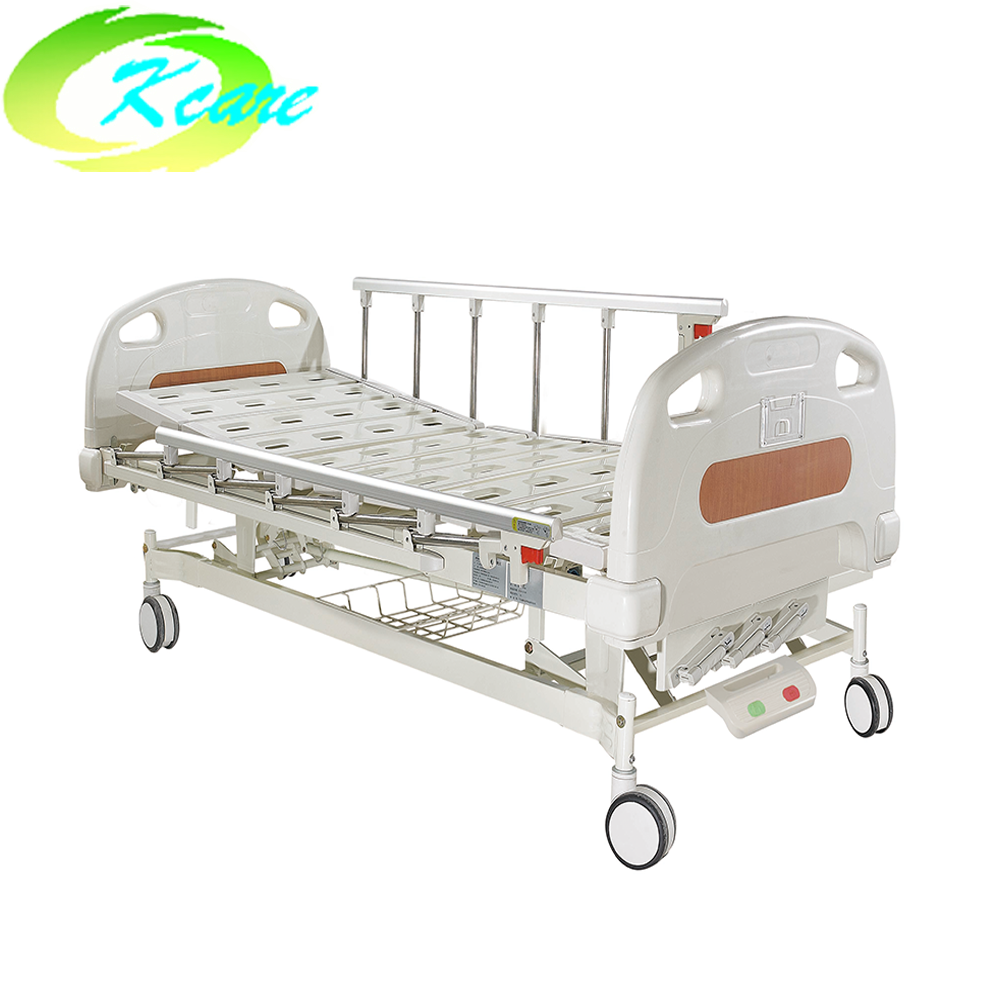 FDA CE ISO approved abs manual 3 cranks medical hospital bed for sale