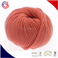hairy fancy type dyeable acrylic yarn