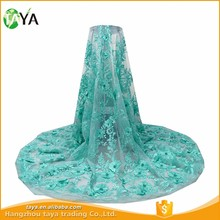 new arrival thick african french chemical lace fabric