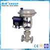 DN80 WCB Pneumatic PTFE Lined Industrial Control Valve
