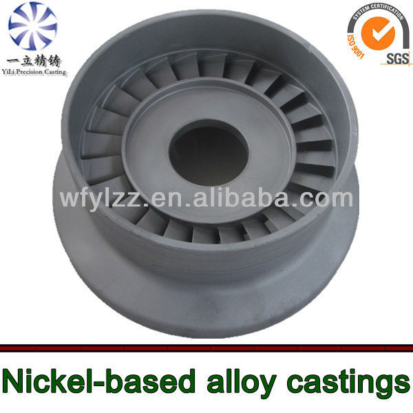 Superalloy nozzle guide vanes used for boeing aircraft parts