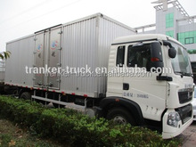 China manufacture 20ft container trailer/van trailer on hot sale