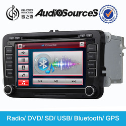 Reasonable car dvd player price suitable for VW/skoda support wince 6.0 OS system
