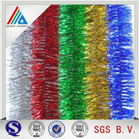 Wedding Decoration Materials of colorful Ribbon With Metallized PET Film