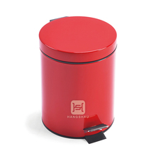 colorful kitchen garbage can/colorful trash bin/commercial stainless steel waste bin