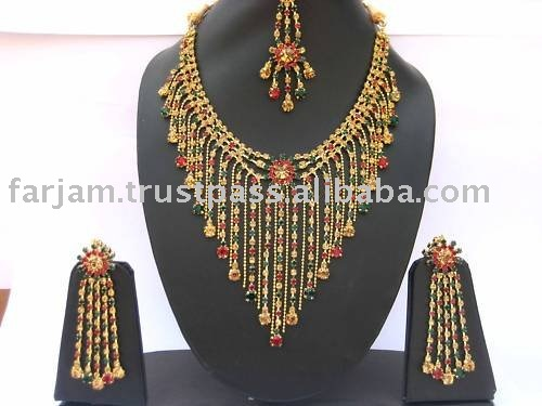 INDIAN NEW AMERICAN DIAMOND FASHION JEWELRY