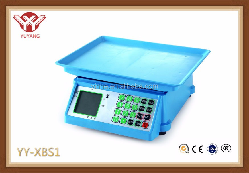 Mini style electronic weighing scale parts, ACS 30kg electronic weighing scale