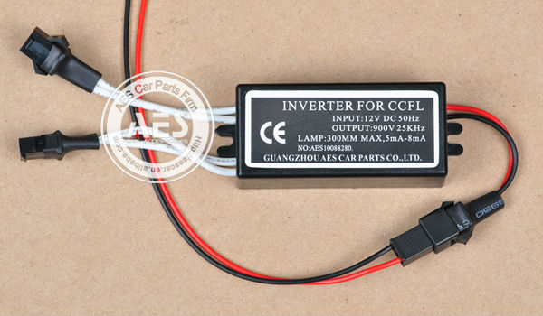 AES CCFL angel eye inverter, 12V converter, one for 2 angel eyes