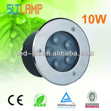 CE UL approved outdoor round/square led underground light