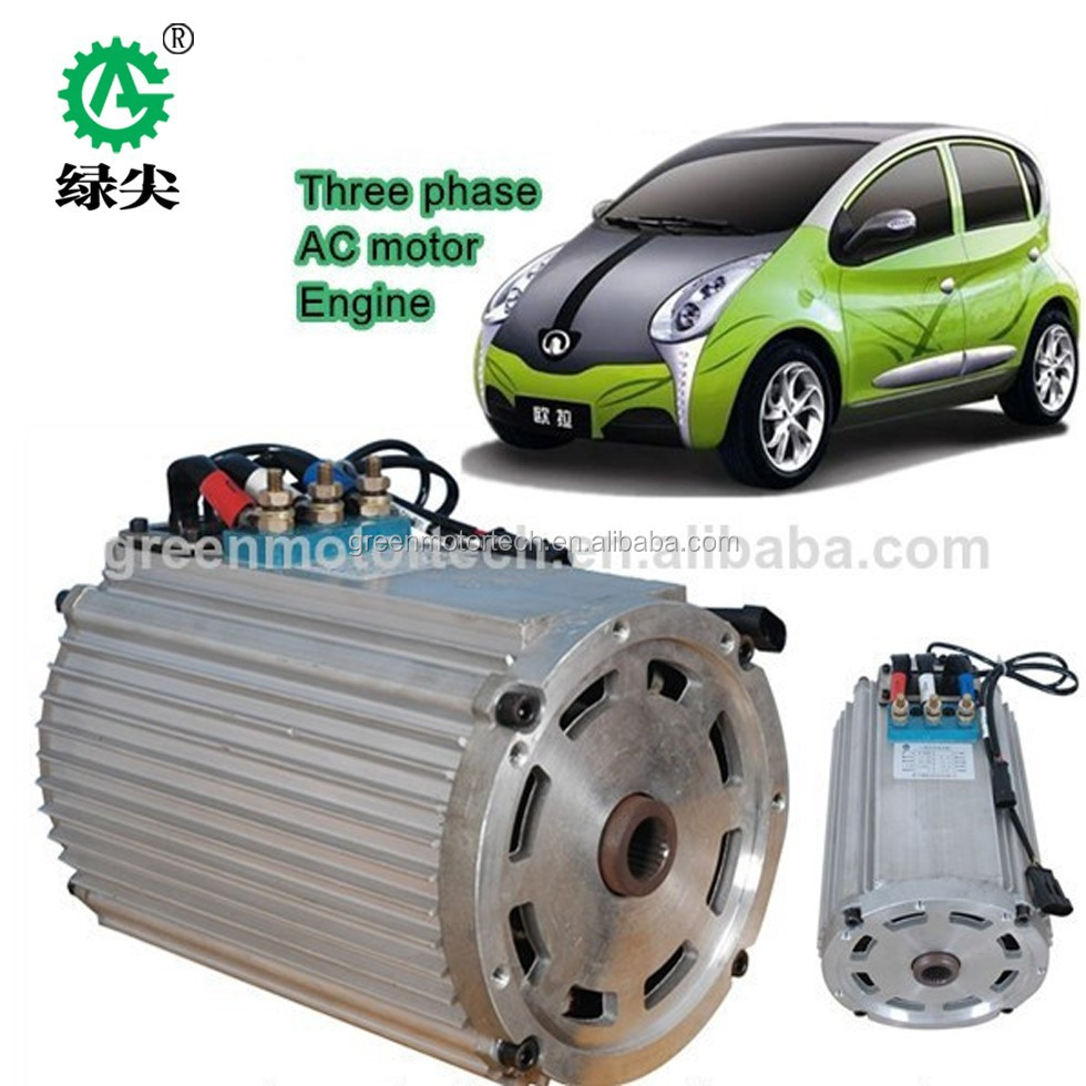 AC Three Phase Output Type 5kw brushless ac motor electric motor 48v 7kw
