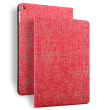 enviroment friendly Jean texture case pu leather case for ipad air 2