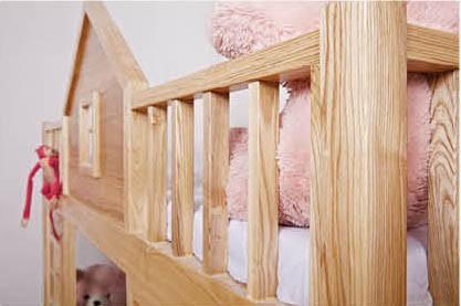 Unique Design Solid Wood Oak Kids Child Bed - Buy Child ...