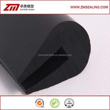heavy equipment edge rubber, protective seal