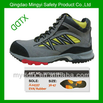 100% genuine leather gery active stylish safety shoes