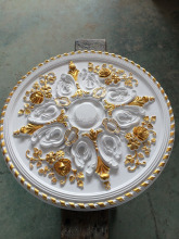 high quality PU ceiling medallion/ ceiling rose / ceiling decoration
