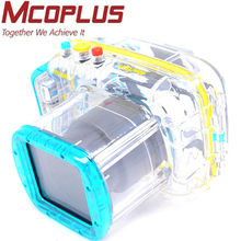 MCOPLUS Waterproof Camera Case for Nikon NK-V1 (10-30mm) Underwater Housing plastic camera case