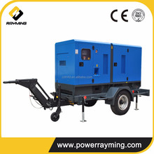 China Original 150KVA Trailer Diesel Genset With Popular Brand Engine
