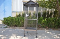 Manufacturere High Quality Lowest Price Iron Bird Cage With Stand