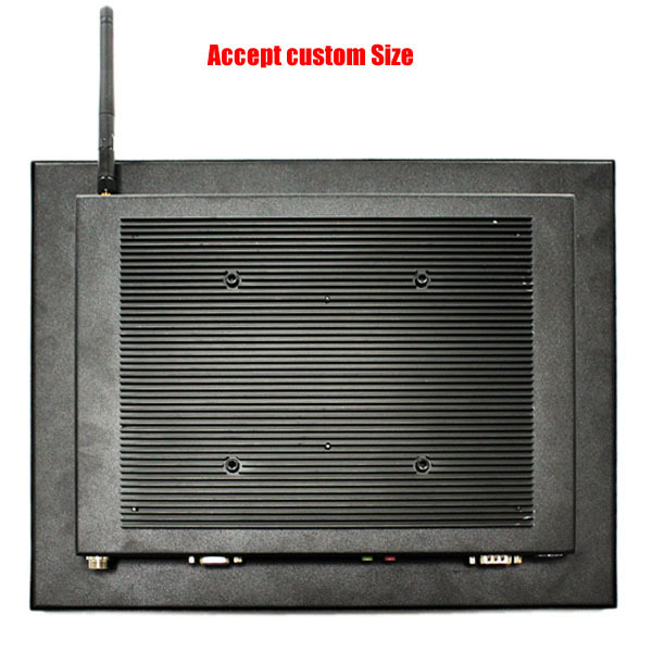 "Alibaba wifi optioanl Fanless 15"" industrial touch panel all in one PC J1900 Quad cores"