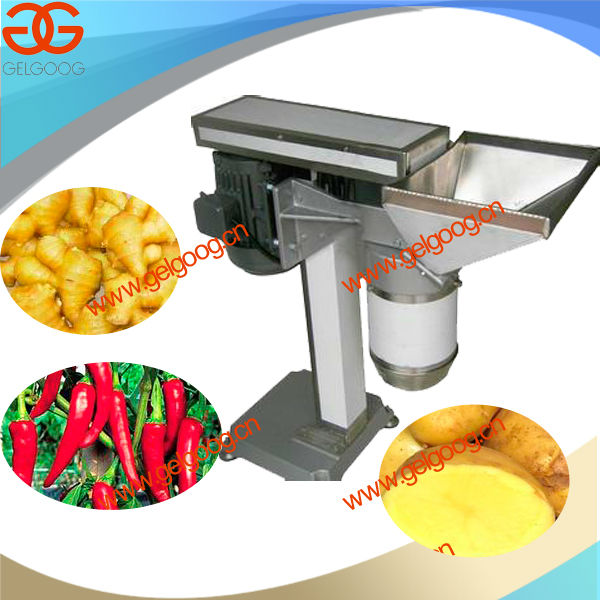 Ginger Grinding Machine|Spinach Strips Machine|Flavoring Plants Processing Machine