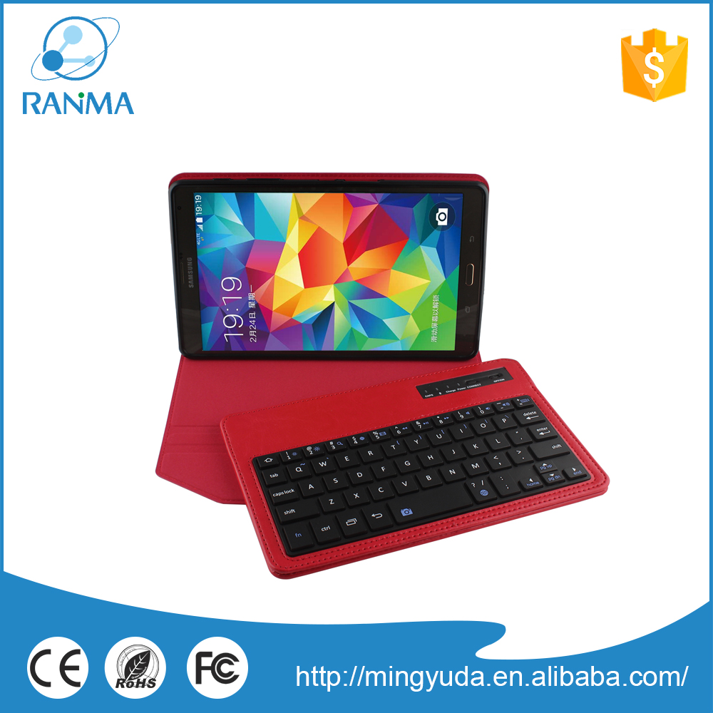 Low Price leather cover with bluetooth wireless keyboard