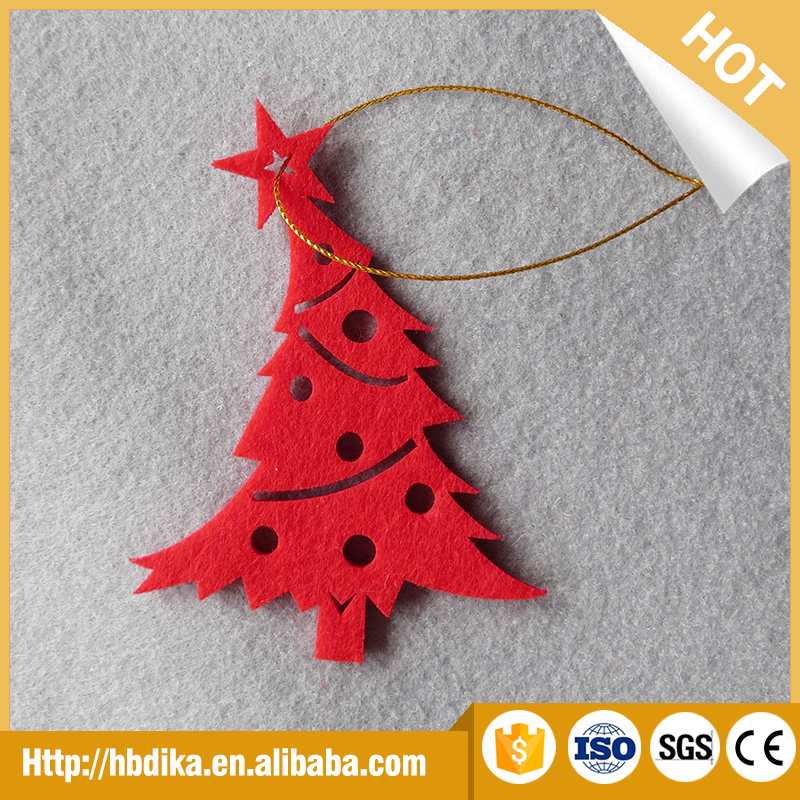 2014 HOT SALE! Polyester felt Christmas decoration