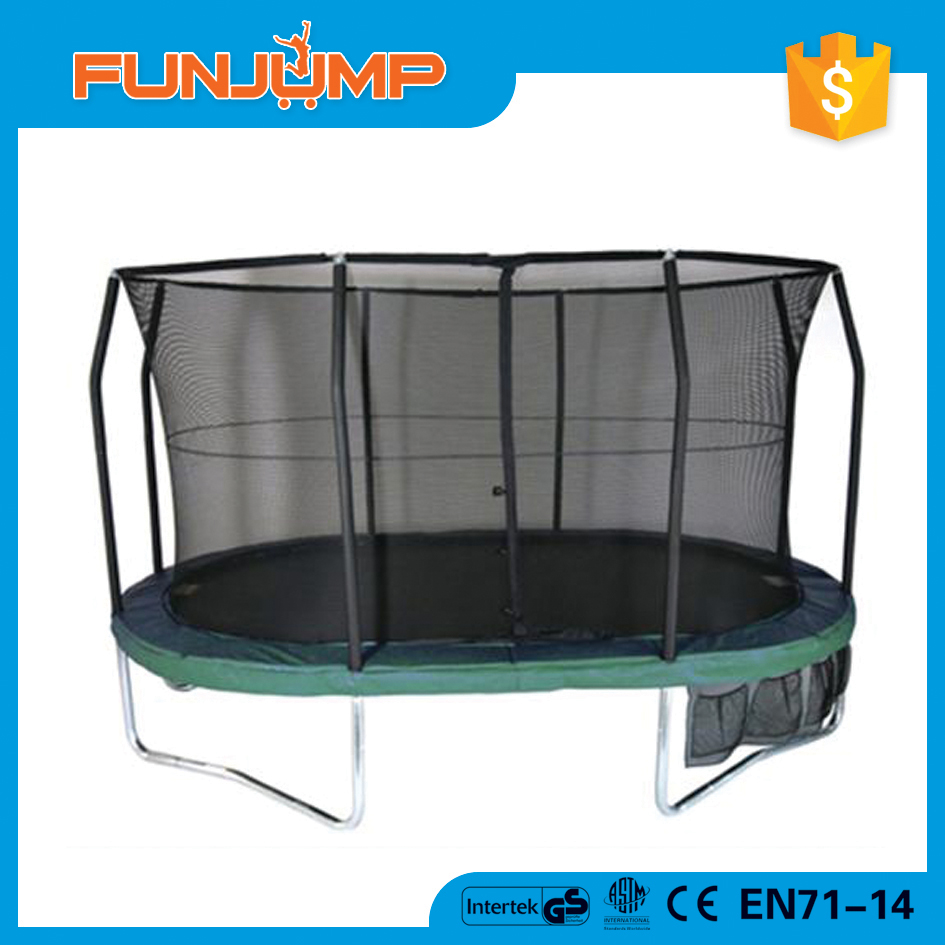 FUMJUMP Factory supply professional gym rebounder with enclosure