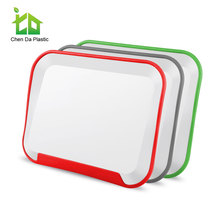 Anti slip plastic pvc cutting board wholesale with FDA certification
