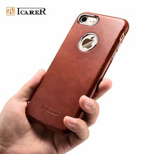 Premium Leather Smart Phone Cover Case for iPhone 7 7 Plus