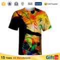 Couple lover sweat Hot new products for 2015 100 polyester t shirts custom made embroidery printing t-shirt sublimation sport t