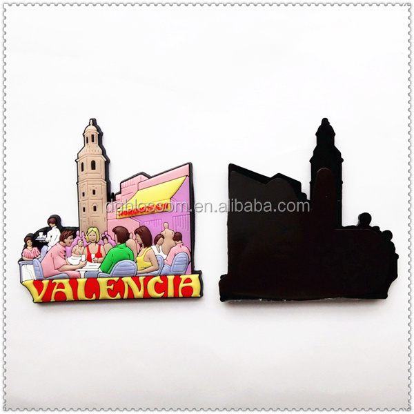 Rubber personalized custom fridge magnets 3d refrigerator magnets Manufacturer