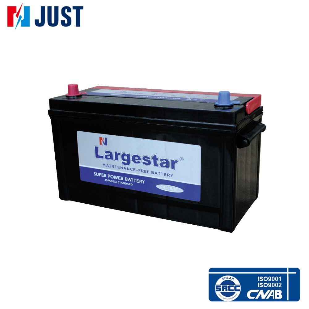 12v 100ah MF N100 rc storage battery for european car