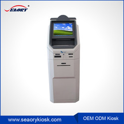 self bill payment kiosk with coin dispenser,digital signage touch screen display kiosk,cash payment kiosk machine