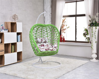 cheap price hanging basket chair outdoor hanging chair promote wicker swing chair