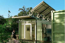 Multi-storyed corrugated prefab house/prefab home/mobile steel home