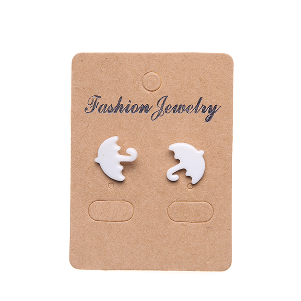 jewelry new fashion porcelain white ceramic earring