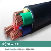 4 core American standard AWG double insulated power cable