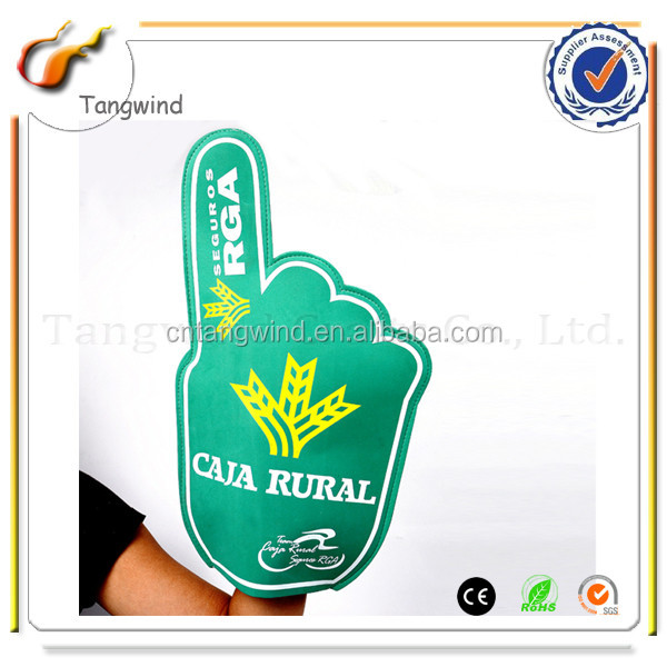 Latest Arrival excellent quality PVC inflatable cheering PE hands
