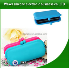 smart pocket multi-functional silicone wallets silicone purses for ladies or kids or card