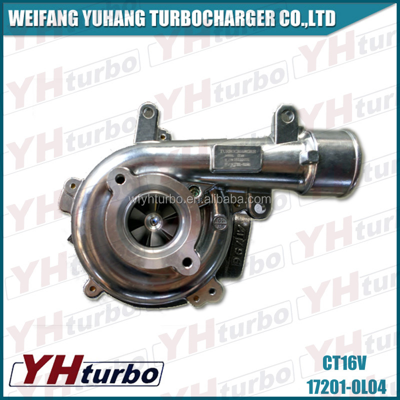 CT16V 17201-0l040 turbocharger for car use