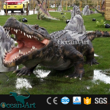 OA6032 World Simulation Real Artificial Robot Crocodile Animal Model