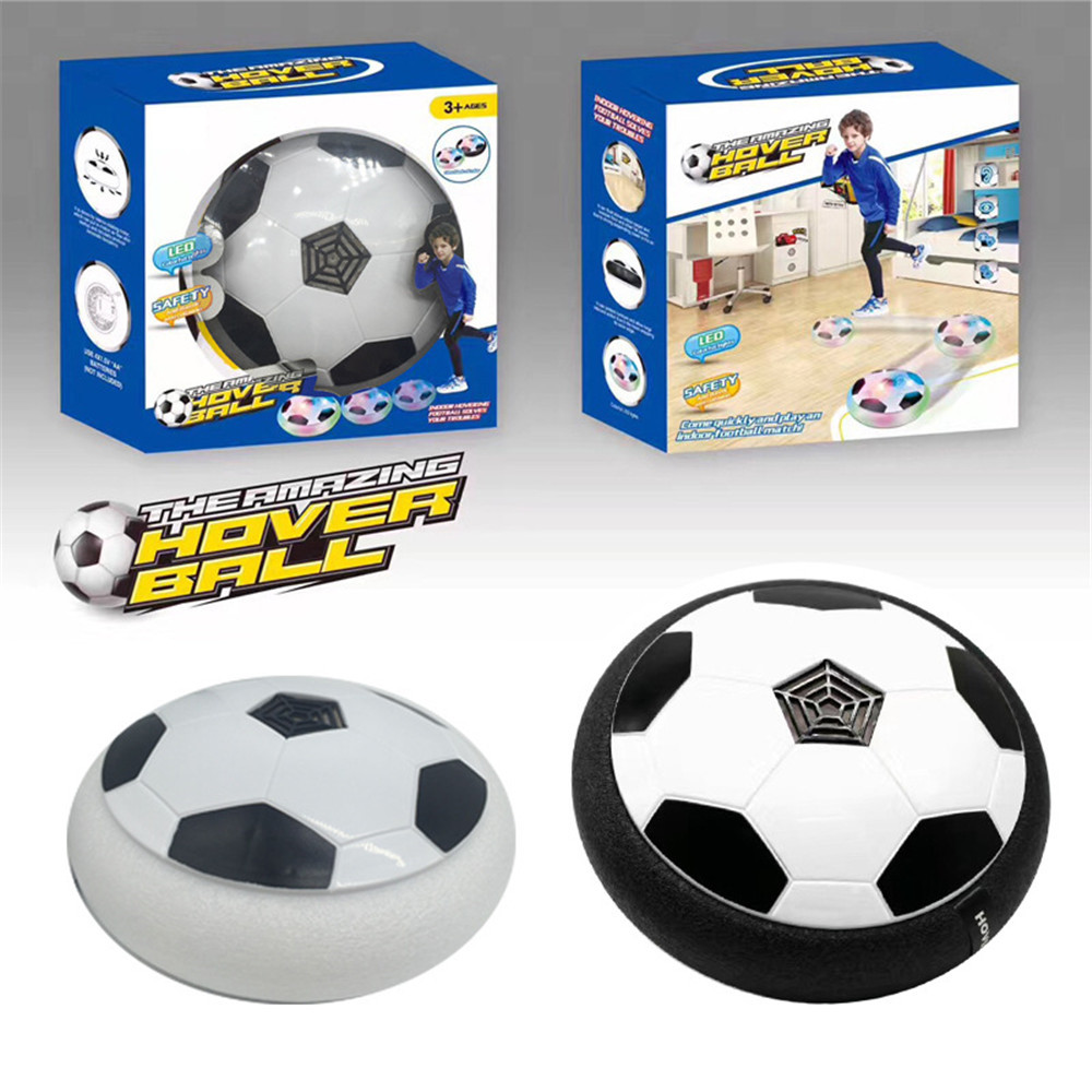 Wholesale Top Quality Indoor Football Colorful LED Light Electronic Suspended Hover Soccer Toy For Adults Kids Game