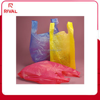 plastic T-shirt bag with Germany techonology
