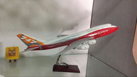 use condition and airbus type lease/customized B747-8 aircraft plane model