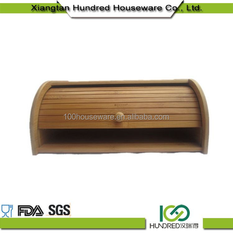 Eco-Friendly New Hot Fashion cheap bamboo bread bin