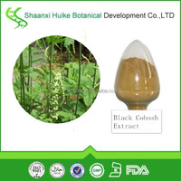 Best Selling 100% Natural Black Cohosh Extract Triterpene Glycosides Powder