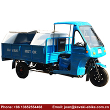Used Garbage Cabin Collection Tricycle Trucks Three Wheel Fully Enclosed Mobility Scooter Motorcycle 250 cc in 2018