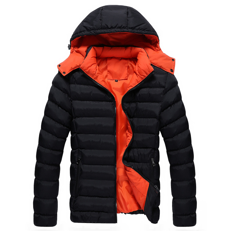 Winter 2016 new hooded cotton thickening down jacket for man