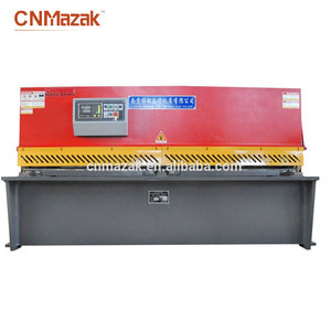 Stainless Steel Plate Shear Machine Nc Hydraulic Guillotine QC12Y-20x2500