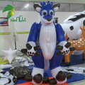 PVC Inflatable Husky Suit Inflatable Animal Costume